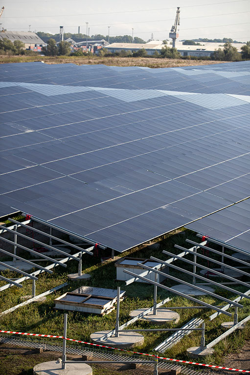Panneaux solaire (c) JB Menges