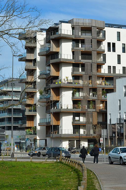 Immeubles d'habitation quartier du Lac à Bordeaux (c) Bordeaux Métropole