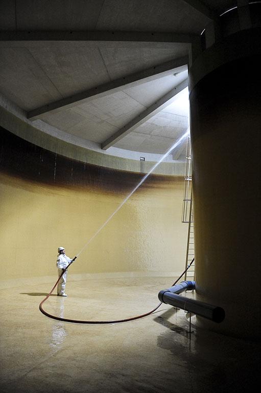 Réservoir eaux assainissement (c) C Goussard