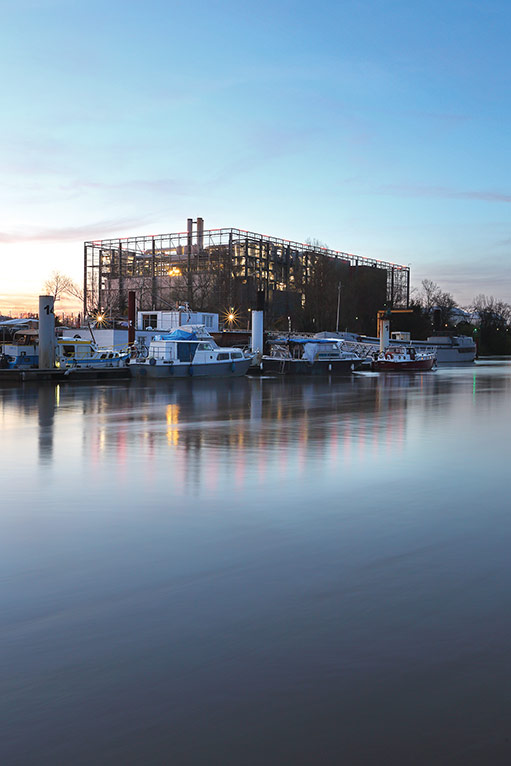 Port de Bègles - Usine de recyclage Astria