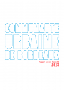 Couverture Rapport annuel d'activité 2014